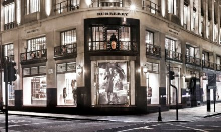 Where is Burberry largest store?