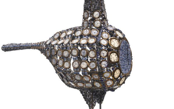 Bead Bird Sold for $55,000