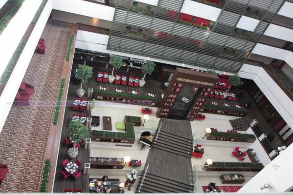 Sofitel inside overview