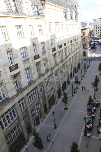 Sofitel Budapest Chain Bridge window view