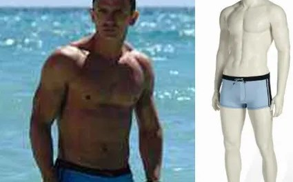 James Bond's swimming trunks sold for $71,876