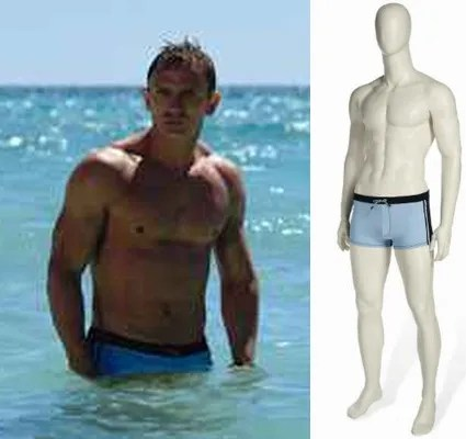 james bond swimming trunks