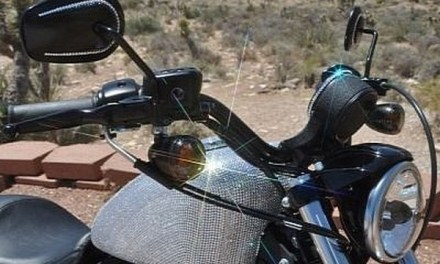 Contradiction: Harley-Davidson with Swarovski