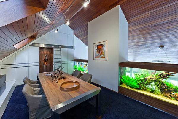 Netherlands: Villa with Aquarium
