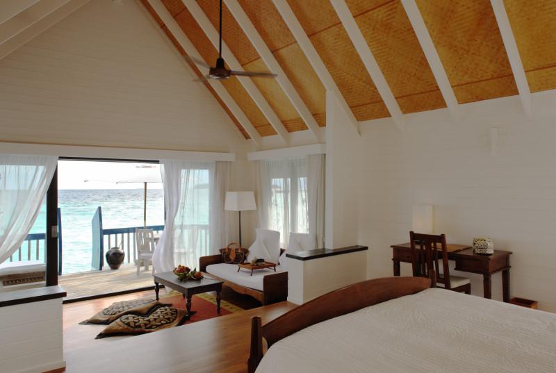 Cocoa Island by COMO Maldives beutiful inside room