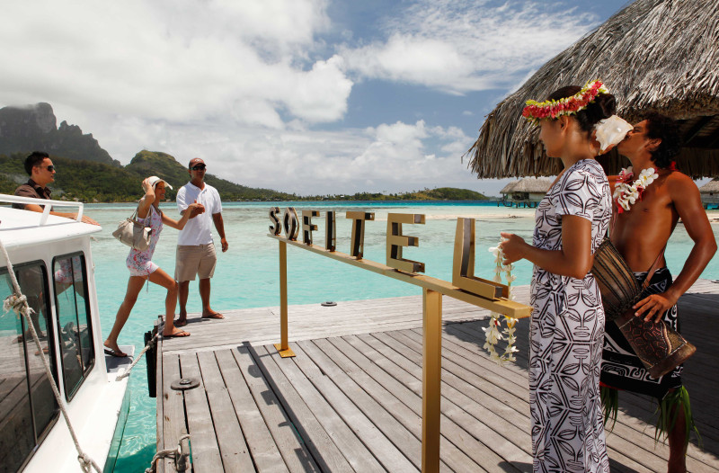 Sofitel Moorea Ia Ora Beach Resort welcome