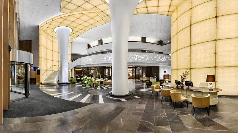 Lobby Kempinski Hotel Corvinus Budapest