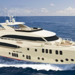 Majesty 155 at the Monaco Yacht Show