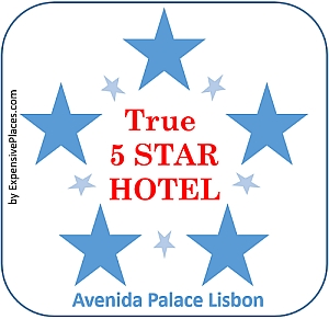 true 5 star HOTEL AWARD avenida