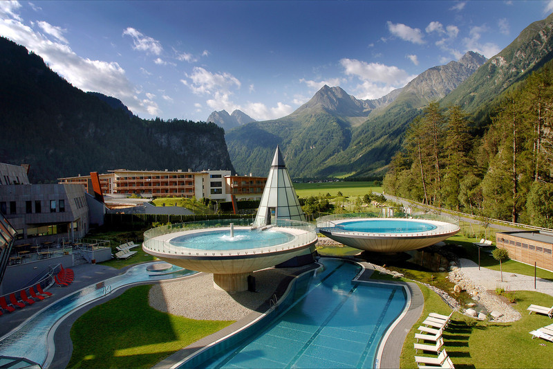 AQUA DOME Austria SPA view