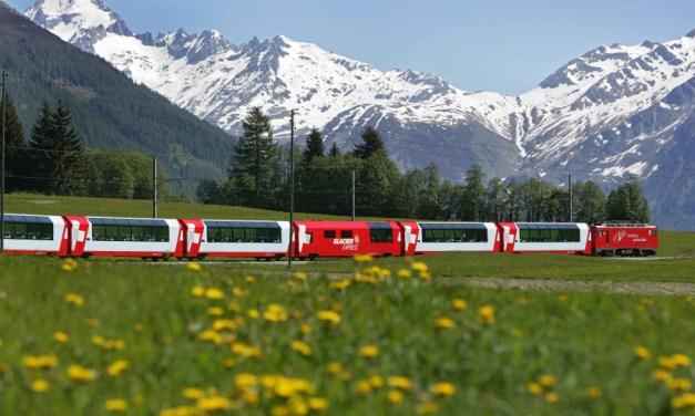 Glacier Express – spectacular railway in Switzerland