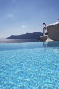 Katikies Hotel, pool