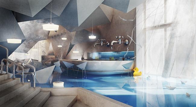Karina Wiciak Bathroom Restaurant Design