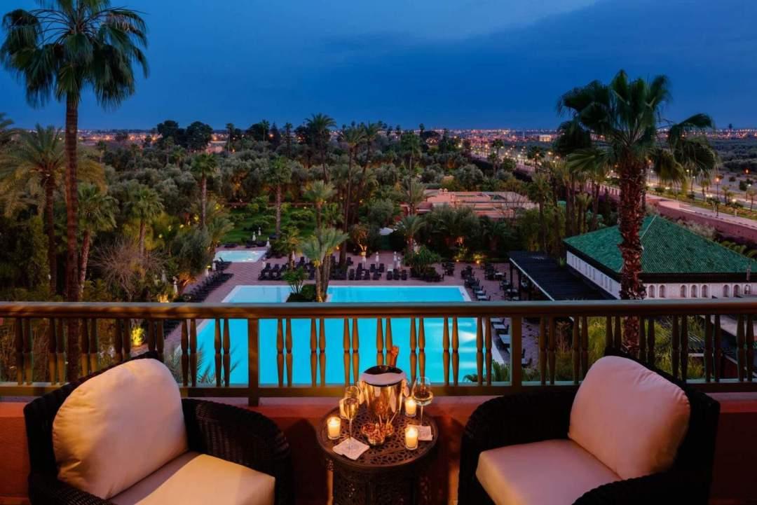LA MAMOUNIA Avenue Bab Jdid 40 040 Marrakech Maroc