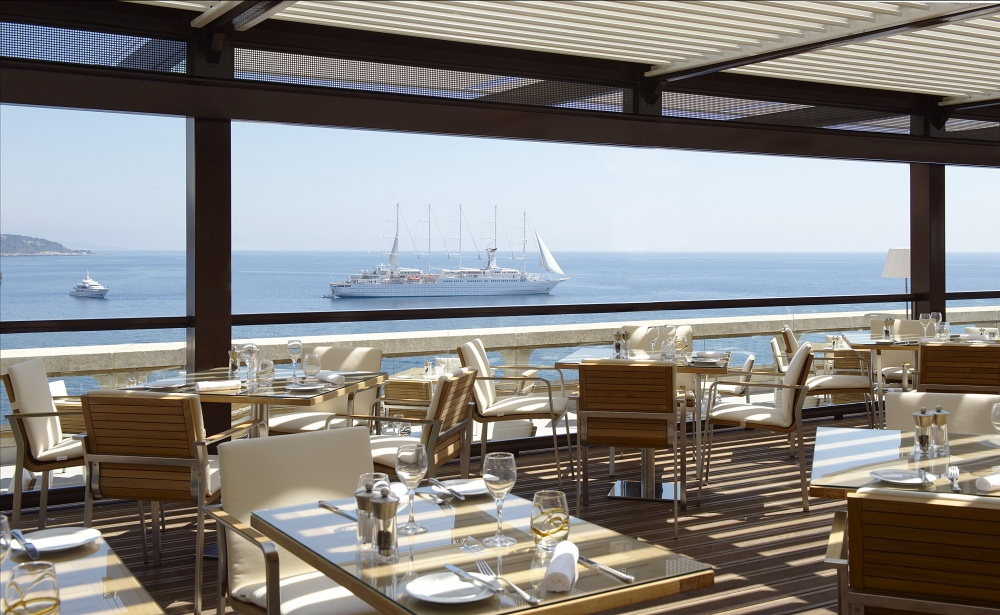 The Fairmont Monte Carlo is a luxury resort hotel in Monaco - restaurant