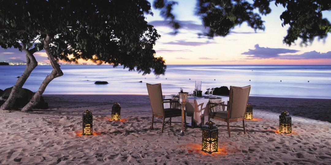 dining-beach The Oberoi, Mauritius