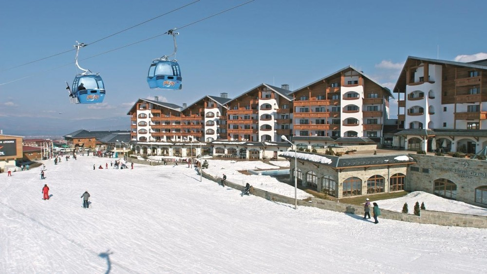 Kempinski Hotel Grand Arena Bansko outside view