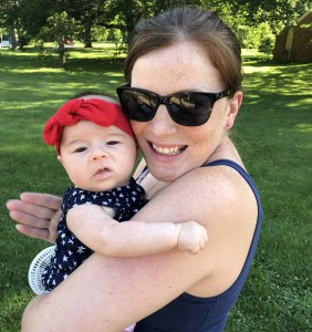Just Enduring Board Of Director Martha McGeehon With Her Daughter Everly