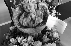 Floral Decoration for a Child's Funeral