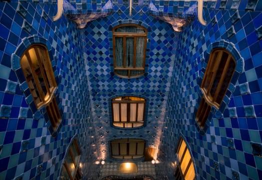 Casa Batlló Stairwell