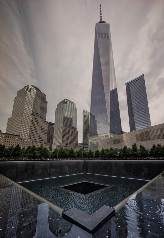 I took this not long ago at the World Trade Center in what is called ground zero. A lot has happened in the last thirteen years and now the Freedom Tower is in the final stages of completion. The sight of this building leaves a feeling that cannot be conveyed, but you soon realize its more than just a building, it's a symbol of revitalization on many levels. Eventually the people working here will go about their business day in and day out, a return to some semblance of normal. But to anyone coming here, residents, workers and visitors such as myself, it is undeniably an emotionally charged setting.