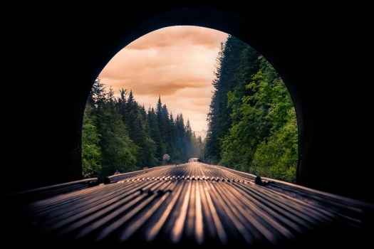 In this case the light at the end of the tunnel was the breathtaking Canadian Rockies. If it's not already, please put a train ride through the Canadian Rockies on your bucket list. You won't regret.