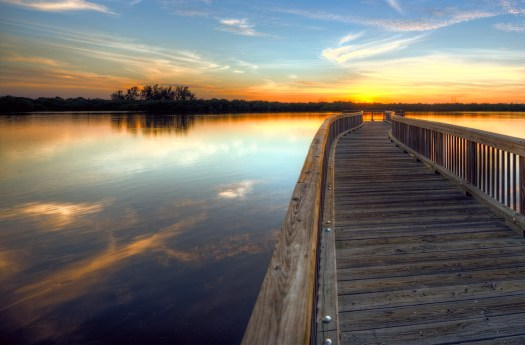 This is another picture of one of my favorite spots in Bradenton Florida, Robinson Preserve. The last sunset I shot from here I nearly got lost walking out at night, now I take my bike, like a man on a mission. Today is Saturday and the only mission I have is recover from the busy week. Have a wonderful weekend everybody.