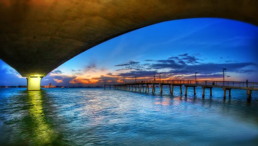 I have a disproportionate number of photos of the Ringling Bridge in Sarasota Florida, after all it's an area icon and I just can't resist. This was the last shot one evening a few weeks back. On this evening I was in