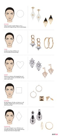 Find Earrings for Your Face Shape