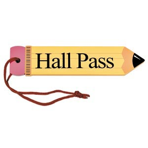 printable hall pass