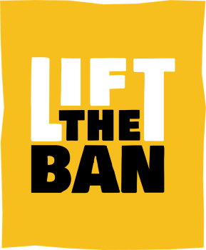 lift the ban logo