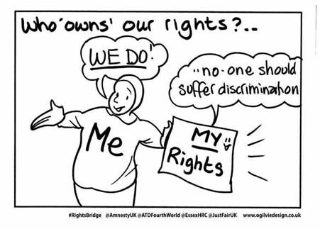 #RightsBridge my rights