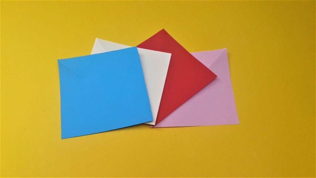 Paper pinwheel materials