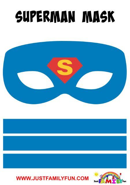superman superhero mask