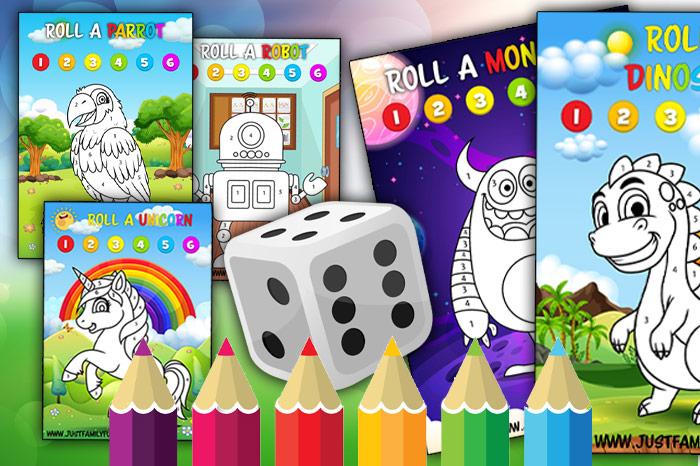 Dice Games For Kids Printable