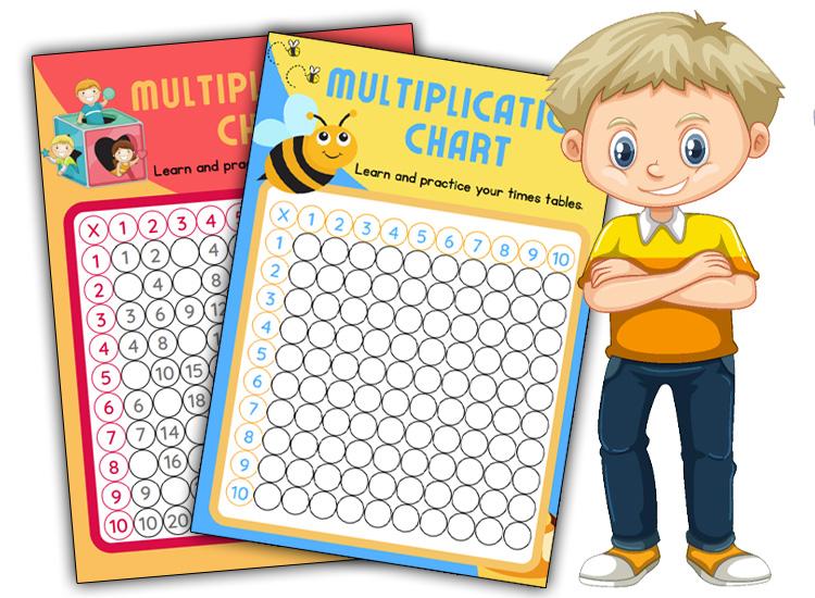 Multiplication Chart blank