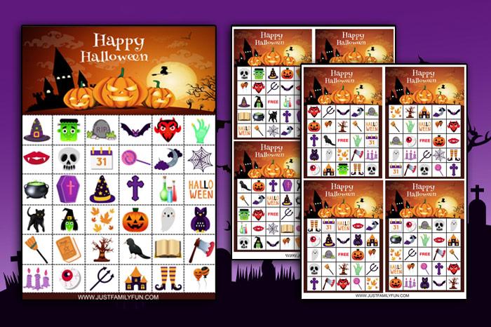 halloween bingo printable