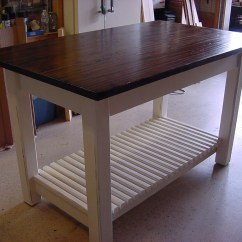 Kitchen Island And Table Flat Panel Cabinets Converting Into An For The Home Pinterest
