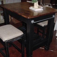 Kitchen Island And Table How To Build Cabinet Doors 30 X 42 Maple Top With Burlap