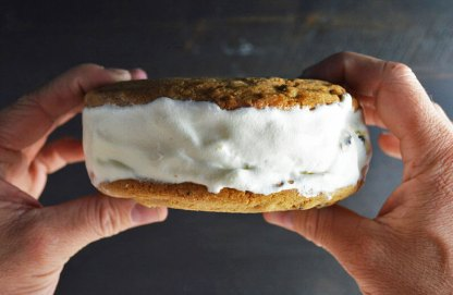 Sticky Face Ice Cream Sandwich