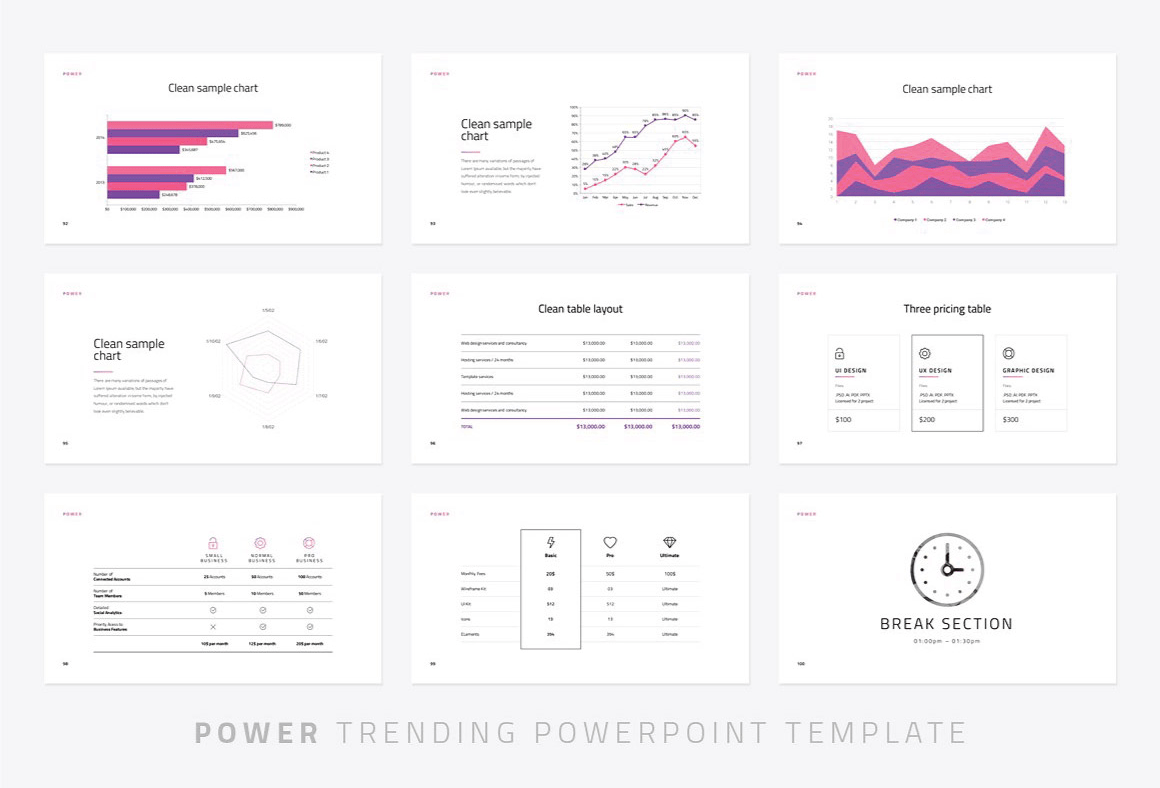Power Modern Powerpoint Template