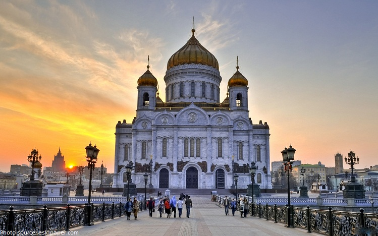 Image result for cathedral of christ the saviour moscow