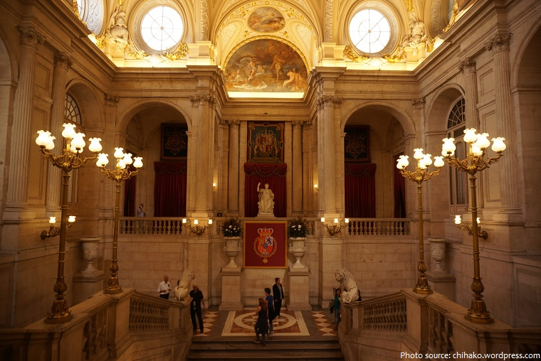 Interesting facts about the Royal Palace of Madrid