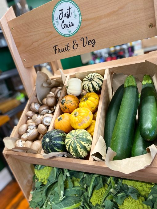 Just Gaia Fruit and Veg boxes photo from in store