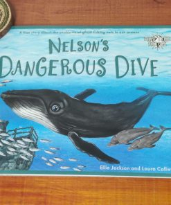 Wild Tribe Heroes Book - Nelson's Dangerous Dive