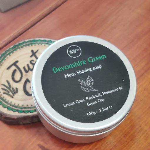 natural shaving soap tin