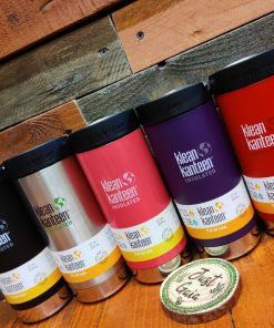 Klean Kanteen 12oz insulated coffee cup range at Just Gaia
