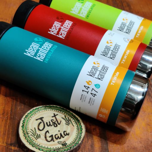 Klean Kanteen 16oz large insulated coffee cup range at Just Gaia