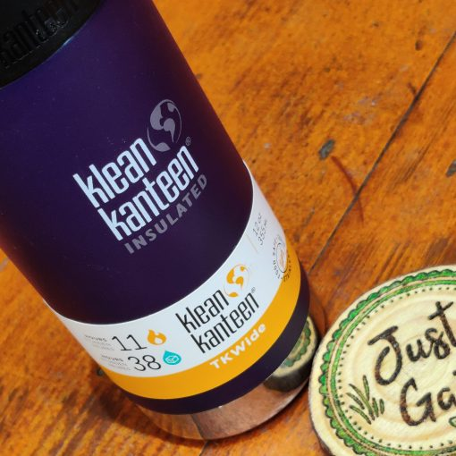 Klean Kanteen 12oz TKWide Insulated coffee cup in kalamata