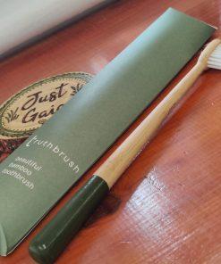 Bamboo Truthbrush Toothbrush at Just Gaia